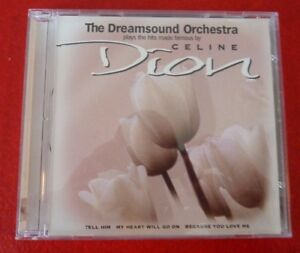 Rare-CD-The-Dreamsound-Orchestra-Plays-Celine-Dion-USA-Records