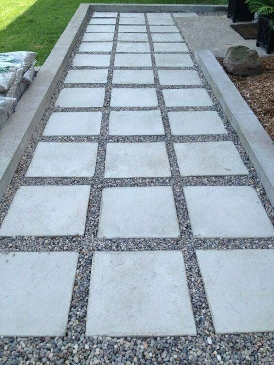 600x600 Patio Paving