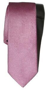 Hugo-Boss-pink-woven-silk-skinny-tie-made-in-Italy