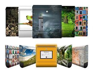 Design-Briefkasten-Top-10-Motive-postkasten-mit-Motiv-zeitungsfach-Mailbox