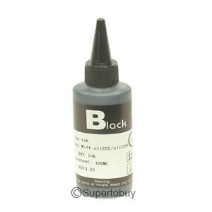 100ML-Photo-Black-Refill-INK-Bottles-For-CANON-PRO-9000-MARK-II-CISS-CIS