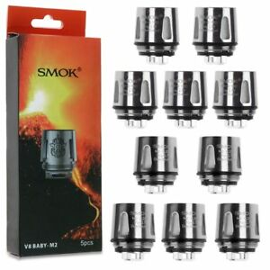 Smok Tfv8 Baby V8 M2 25ohm 0 15ohm Coils 5pcs 1 Pack For Stick V8