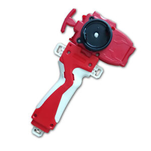Beyblade Burst B-11 Red String Launcher / Beylauncher with Red GRIP Set yz