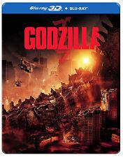 Godzilla [STEELBOOK] (Blu-ray 3D + Blu-ray) (3D/2D) (2014) (All Region)