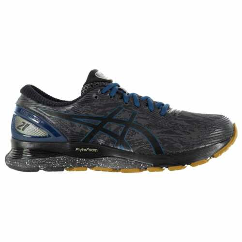Asics Nimbus 21 Winterized Sneakers Mens Gents Road Running Shoes Laces Fastened
