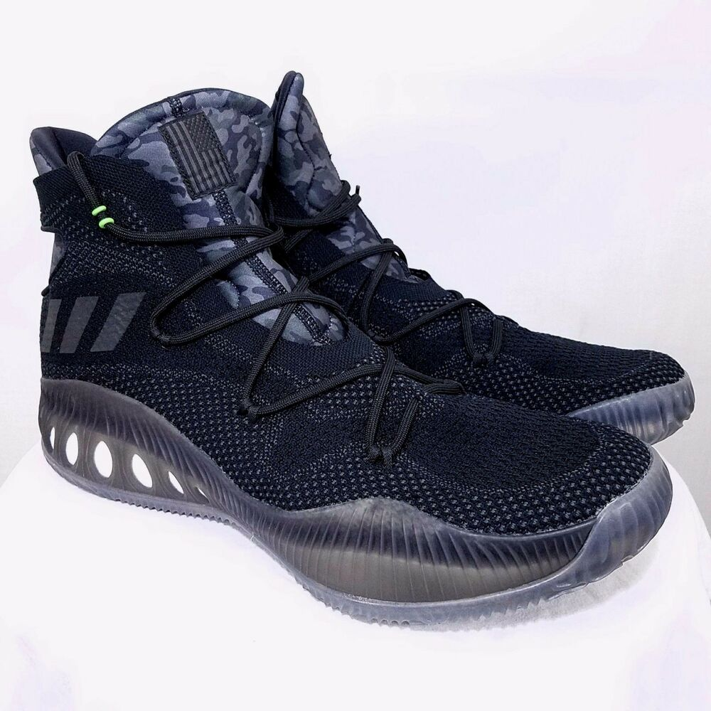 Adidas Crazy Explosive Primeknit homme Basketball chaussures Vets Day Camo B42882 19