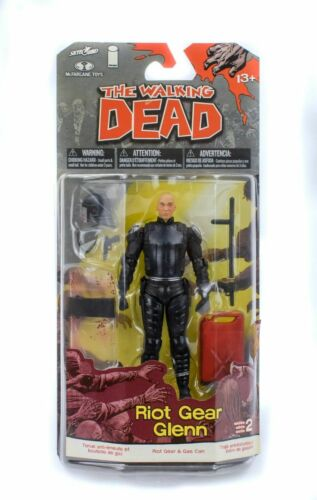WALKING DEAD TV SERIES 2 RIOT GEAR GLENN ACTION FIGURE