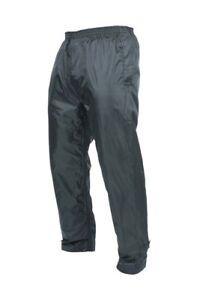 Target-Dry-Mens-Classic-Waterproof-Packaway-Over-trousers-Navy-Size-XXL