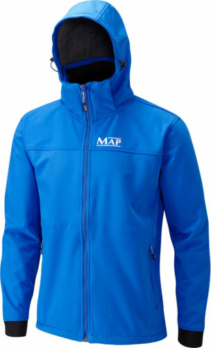 Map Softshell Jacket Blue All Sizes Full Range Coarse Match River Fishing