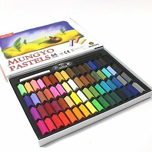 Mungyo SOFT PASTEL Chalk NON TOXIC Pack 64 Assorted Colors Paint Drawing Art Set