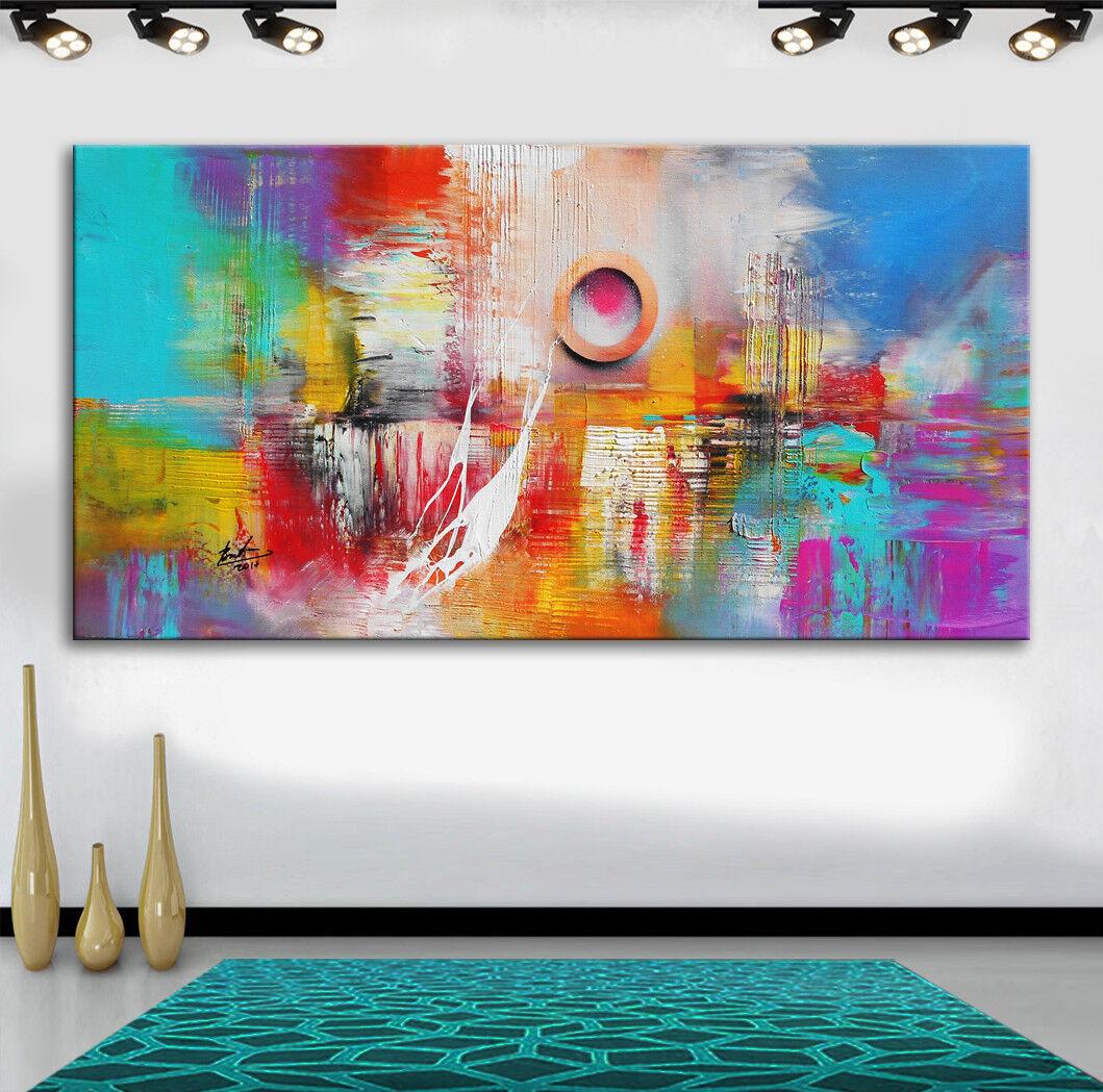 Bratis Art Abstrakt Bilder auf Leinwand Modern Wandbild Kunst Kunstdruck 410A