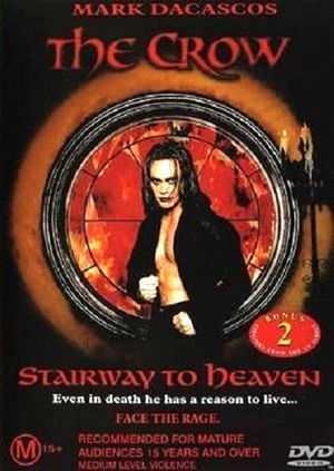 1 of 1 - The Crow - Stairway To Heaven (DVD, 2002)*R4*VGC*