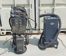 Nordson Npe Cc8 Powder Coating Machine With Gun And 2 Hoppers Needs Work