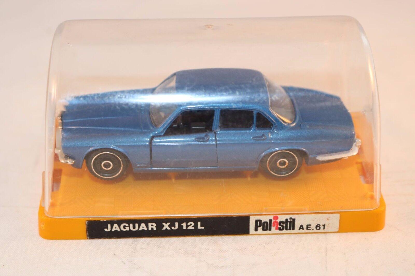 Polistil Jaguar XJ 12 L L L bluee perfect mint in box OVP Scarce 96d969