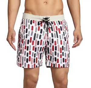 38d26be6c6 Mr. Swim Men's Bathing Suit trunks board shorts retro rockabilly ...