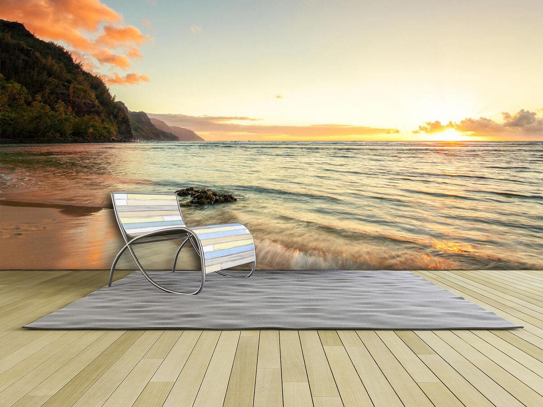 3D Sea Beach 7455 Wallpaper Mural Wall Print Wall Wallpaper Murals US Summer
