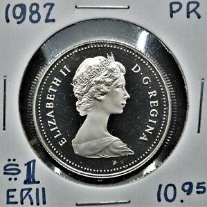 1982 Canada $1 Proof Nickel Dollar