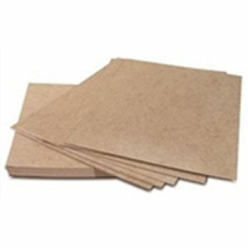 "Chipboard Pads 8 1/2 x 11"" 22 pt. 760/case Envelope Stiffeners"