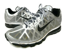 Mens Nike Air Max 2011 Metallic Silver Black Shoes 429889