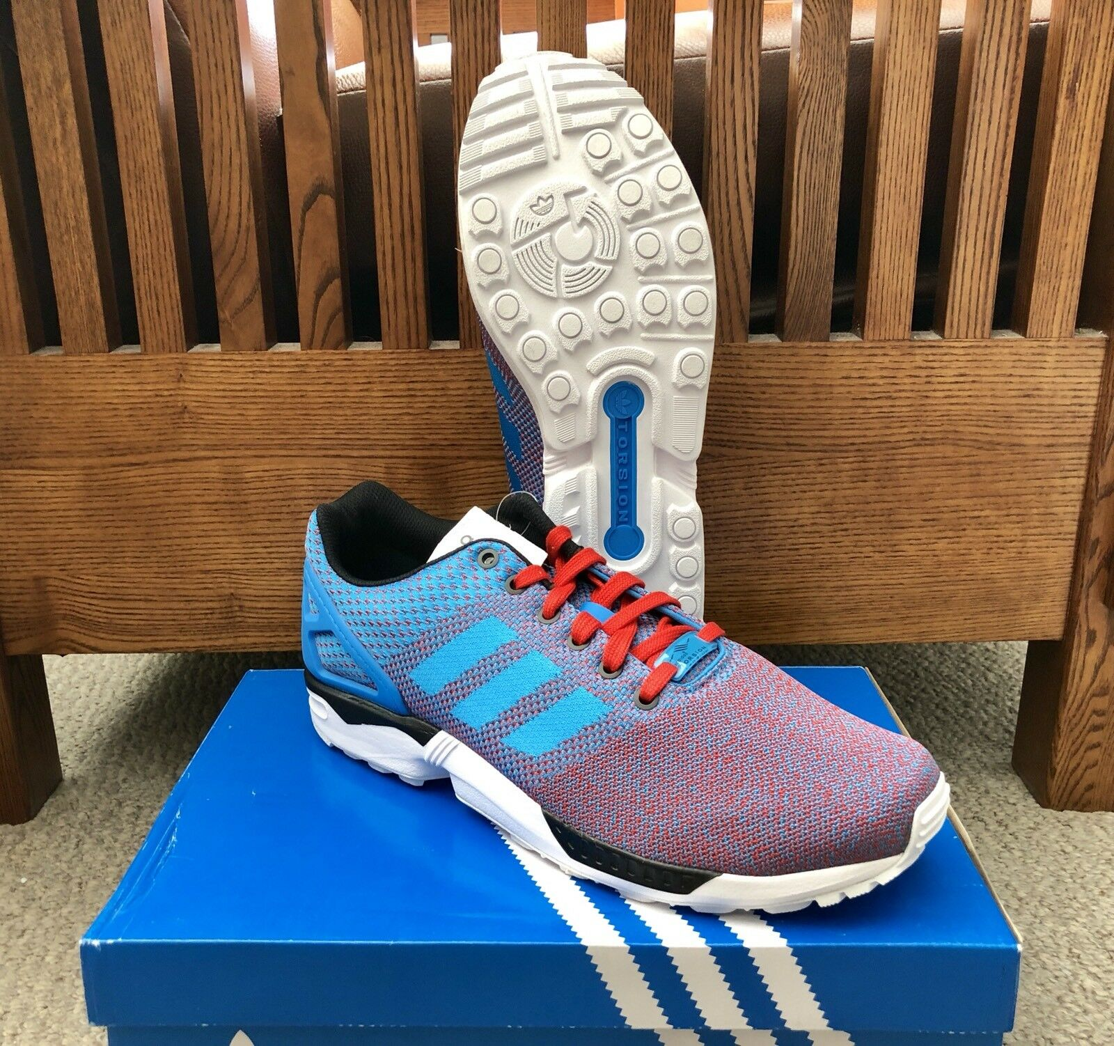 """Adidas ZX Flux Weave """"USA"""" Running Shoes M29091 *NEW* Comfortable Brand discount"""