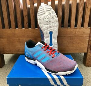 "29d272f52 Adidas ZX Flux Weave ""USA"" Running Shoes M29091  NEW  Size 10.5"