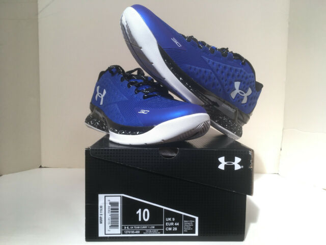 new concept 09552 e7b17 Under Armour Curry 1 low Royal  Blue Pill  size 10 deadstock w receipt