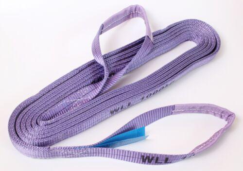 YALE Rundschlinge Hebegurt Hebeband violett 6 m 1000 kg 1 t Hebebänder Gurt