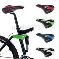 Unisex Road Mountain MTB Bike Bicycle Cycling Extra Comfort Soft Pad Saddle Seat