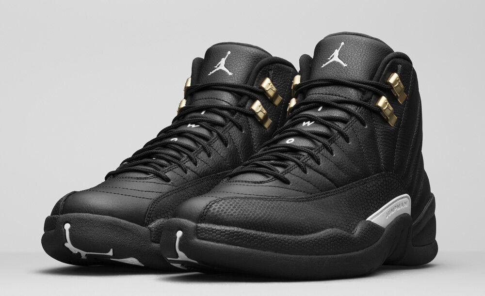 2016 Nike Air Jordan 12 Retro GS 'Master' 153265-013 GS & Men SZ 4Y-13