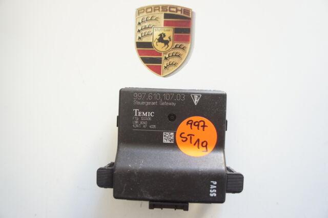 Porsche 997 Control Unit Gateway Immobiliser 99761010703 ST19