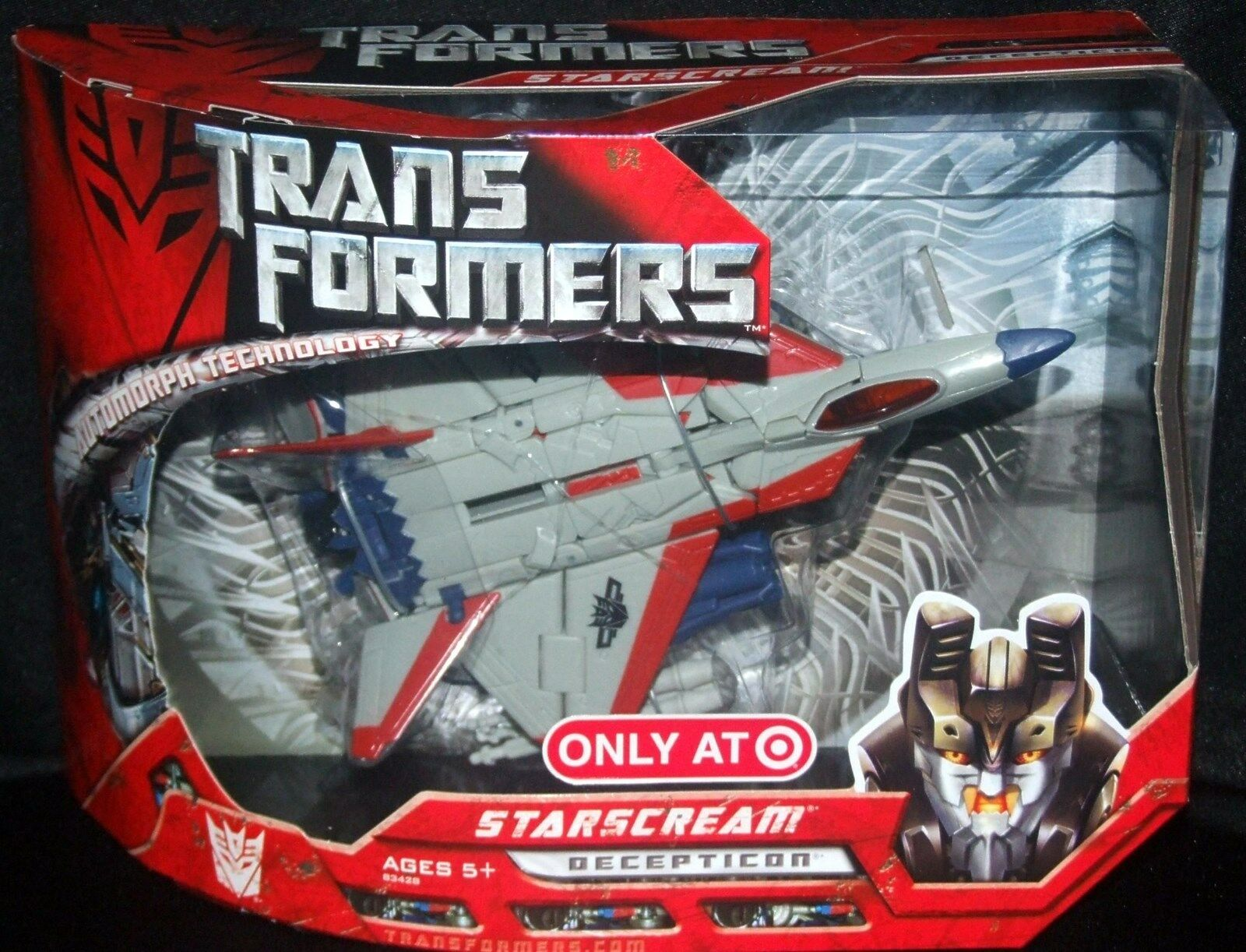 Transformers Película objetivo exclusivo engaño Voyager Class Starscream Nuevo Jet