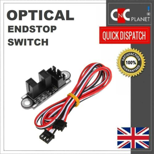 Optical End stop Limit switch with Cable for 3D Printer Prusa Reprap UK FAST
