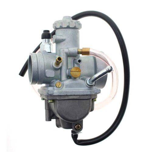 High Quality For Suzuki Carburetor 87-89 LT-4WD Quad Runner #D171 Carb+Fuel Line