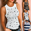 Womens Sleeveless Lace Vest Tank Tops Ladies Cami Summer Casual Blouse T Shirt