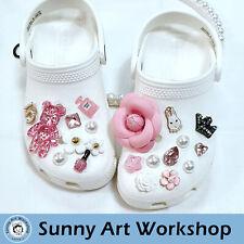 Cute Shoe Charms Ornaments Accessories Set for Crocs-like Sandals Clogs-like