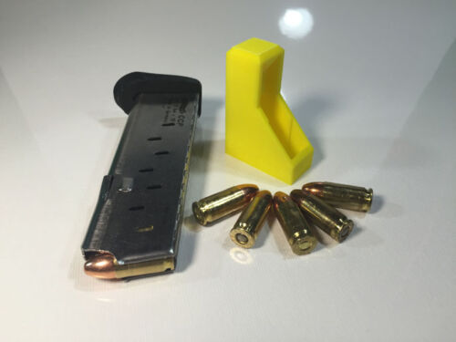 NEW RangeTray Magazine SpeedLoader Speed Loader for Walther CCP 9mm 9 mm YELLOW