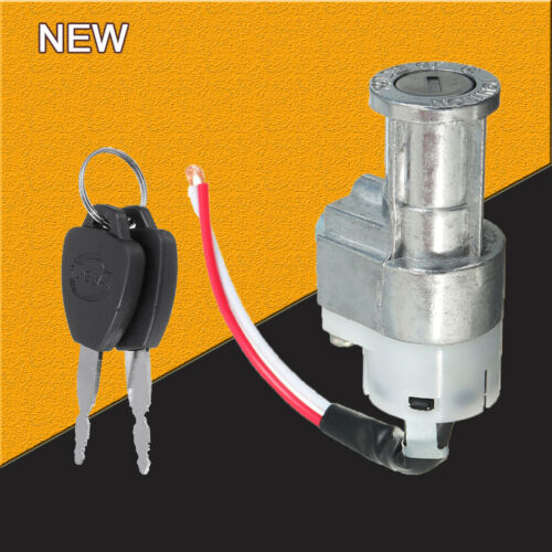 Battery Chager Power Switch Lock With 2Keys For Motorcycle Electric Bike