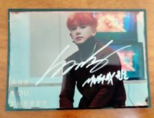 hand signed MONSTA X Wonho ?? ?? autographed photo ARE YOU THERE 5*7 102018
