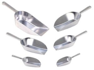 Aluminium-Hygia-GEWURZSCHAUFEL-TEESCHAUFEL-ABWIEGESCHAUFEL-Mehlschaufel