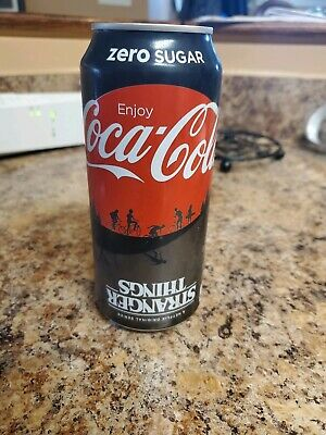 New Limited Edition Stranger Things Limited 16oz Coke /& Coke Zero Unopened