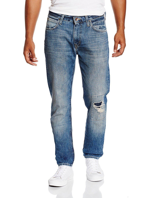 Lee Jeans, Arvin, Regular Fit, Taperot Leg, Blast Blau, Vintage & Destroyed     | Günstige Preise  | Genialität  | Up-to-date-styling