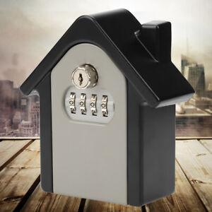 Schluessel-Safe-Schluesseltresor-Key-Garage-Metallgehaeuse-4-Digit-Zahlenschloss-A
