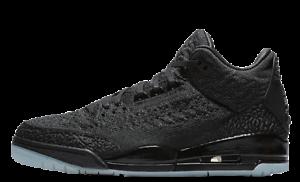 23f6e548cc3f00 Nike Air Jordan 3 Retro Flyknit Black Black-Anthracite AQ1005-001
