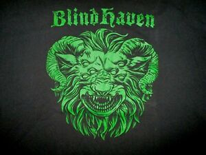 Blind-Haven-T-Shirt-Bande-Concert-Boues-Destin-Came-Metal-Blissfield-Michigan-2X