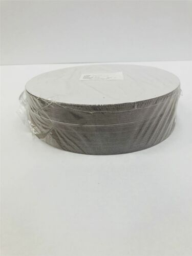 "Pack of 100 7/"" Round White PE Coated Boards 1.5mm Thick"