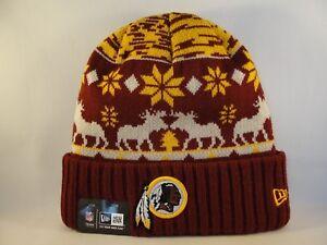 75c4a735edcac8 Image is loading Washington-Redskins-NFL-New-Era-Cuffed-Knit-Hat-