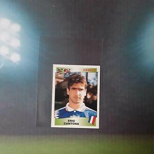 # 191 Panini Euro 96 RC  Rookie ERIC CANTONA  1996 RARE the king Rookie