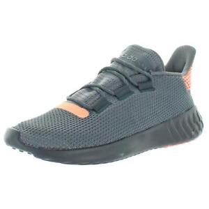 Adidas-Womens-Tubular-Dusk-Gray-Running-Shoes-Sneakers-9-Medium-B-M-BHFO-9128