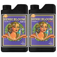 Advanced Nutrients Sensi Bloom A & B Ph Perfect Nutrient Part A Part B 1 L Liter