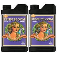 Advanced Nutrients Sensi Bloom A & B Ph Perfect Nutrient Part A Part B 1 L Liter